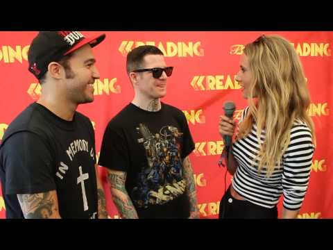 Fall Out Boy Interview - Reading Festival 2013