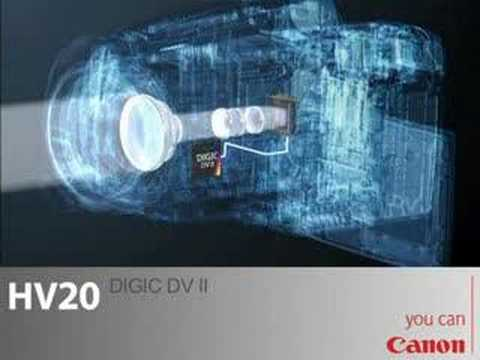 Canon HV20 (HD) High Definition MiniDV Camcorder