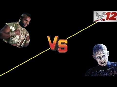 WWE 12: CAW ARENA - Mr. T VS Pinhead