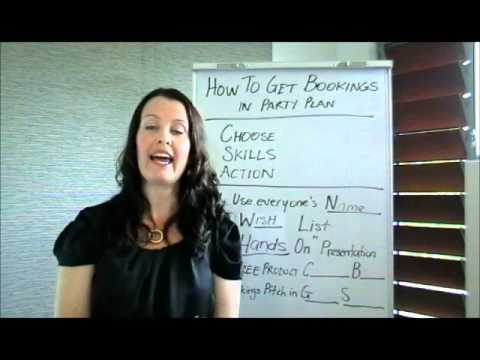 How to Get Bookings in Party Plan.wmv