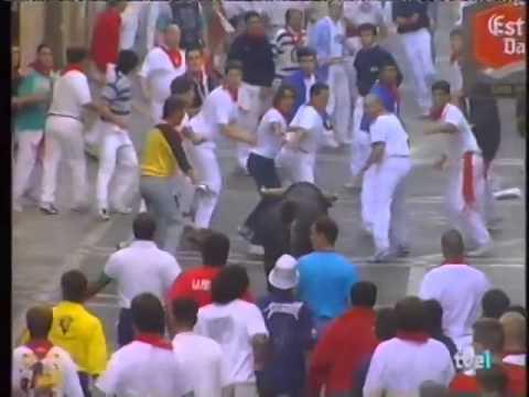 Encierro de San Fermín   9 de julio de 1999 480p