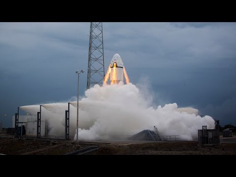 SpaceX Pad Abort Test