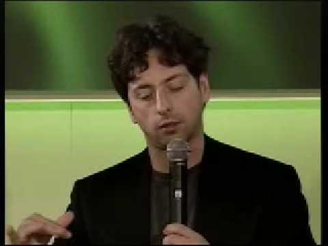 Eric Schmidt, Larry Page, Sergey Brin at Zeitgeist Europe 08