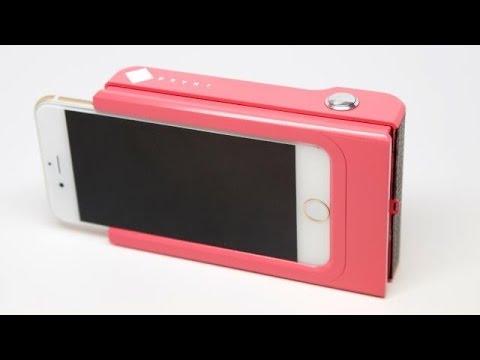 فيديو ..شاهد غطاء للهواتف الذكية يطبع الصور مباشرة فور التقاطها