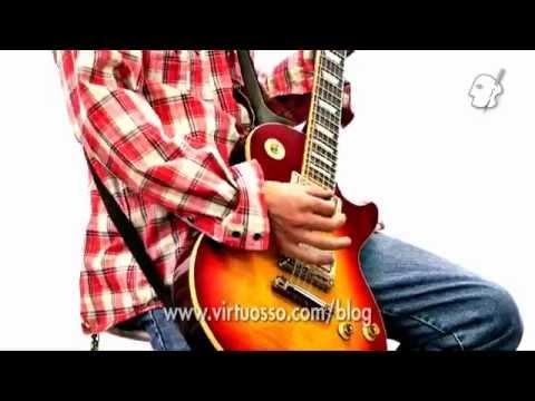 Curso de guitarra electrica - Ritmos en quintas en drop d