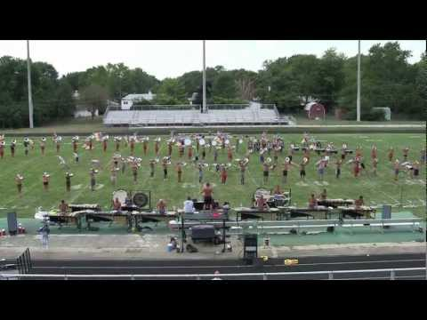 Bluecoats 2011 - Final Runthrough