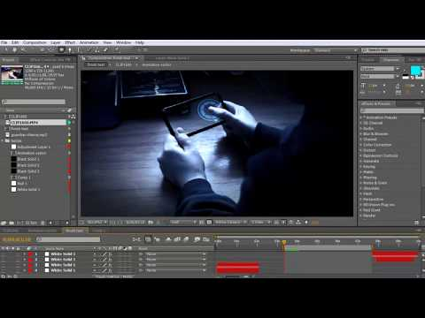 IRON MAN PDA INTERFACE | AFTER EFFECTS TUTORIAL