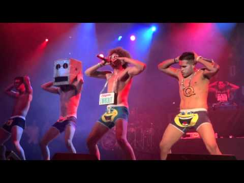 "LMFAO- ""Sexy And I Know It"" LIVE"