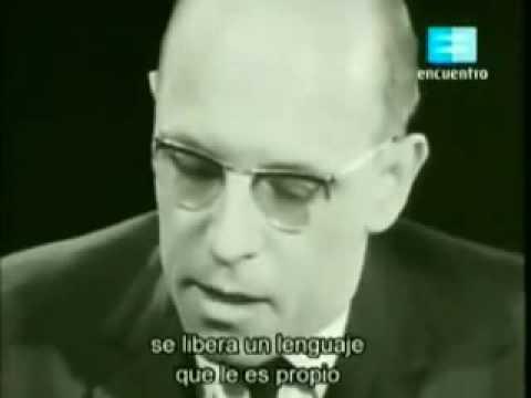 Michel Foucault - Entrevista Alain Badiou (1 de 3) - Filosofía y Psicología (Psicoanálisis)