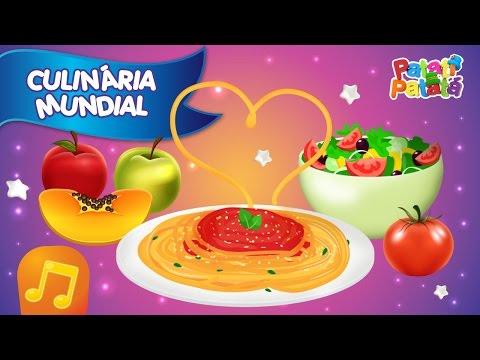 Culinária Mundial - Patati Patatá (DVD Volta ao Mundo)