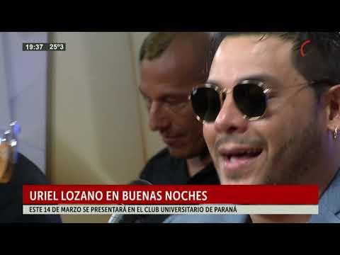 Uriel Lozano en Buenas Noches
