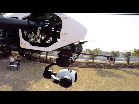 DJI Inspire 1 - Close Up of the 4K Camera - HeliPal.com - default