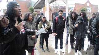 UB students stage walkout in show of black solidarity