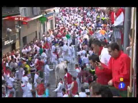 San fermin 2011 (2 encierro)