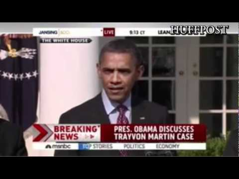 Obama Speaks On Trayvon Martin