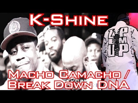 SMACK/URL/Big Cheese Presents - K-Shine - Macho Camacho / Break Down DNA