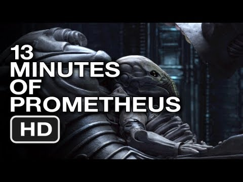 Prometheus 13 Minutes of Haunting Slow Motion - Movie Trailer HD