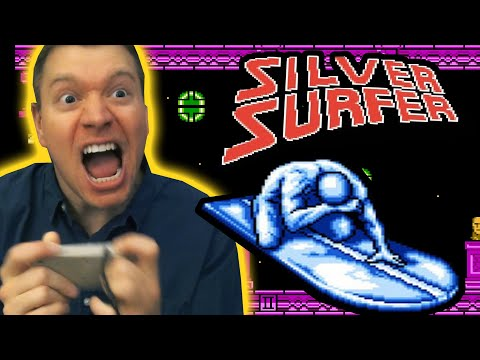 Silver Surfer NES review - The Irate Gamer Show HD Ep 5