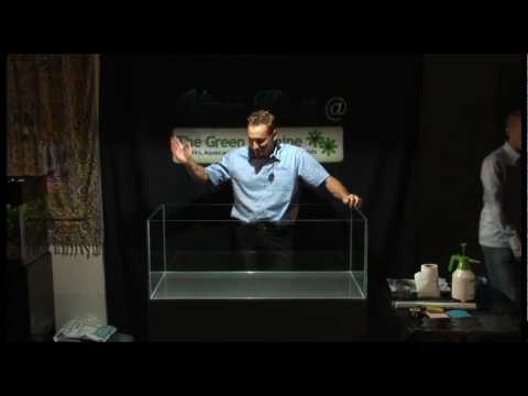 Oliver Knott @ The Green Machine Aquascaping Demo (Part 1 of 4) Full Video