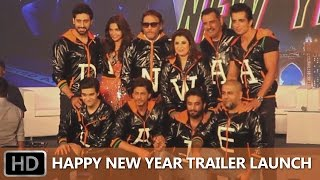 Happy New Year Trailer Launch Event - Uncut | Shah Rukh Khan, Deepika Padukone