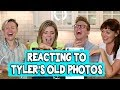 REACTING TO TYLER'S OLD INSTAGRAMS // Grace Helbig