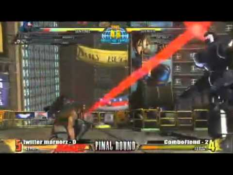 Marvel Vs Capcom 3 - Final Round XIV - BIONIC AAAAAARM!!!