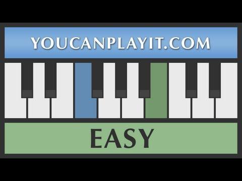 Beethoven - Für Elise [Easy Piano Tutorial]