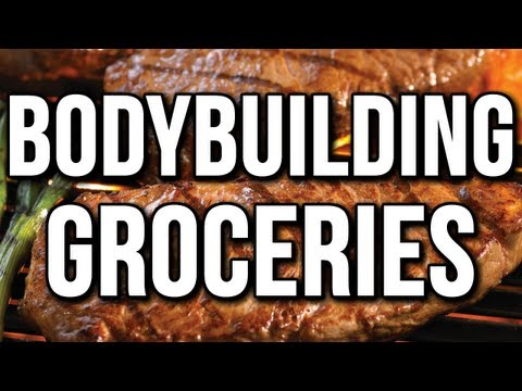 BODYBUILDING GROCERY SHOPPING -  PROTEIN VARIETY