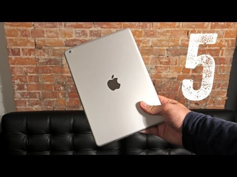 New iPad 5 First Look & Comparison
