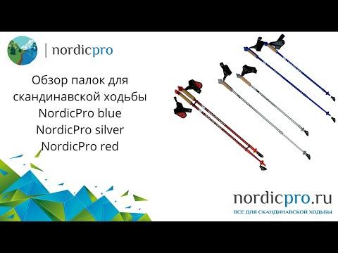 NordicPro Red / Палки для скандинавской ходьбы