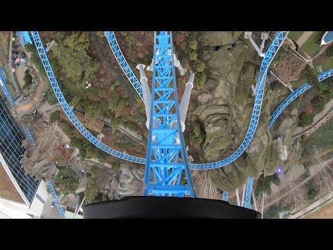 Bluefire Megacoaster POV bei -1Grad |Europa-Park Winter 2018, GoPro Hero 7|