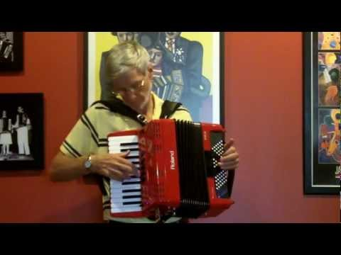 St. Louis Blues, Roland FR-1x Accordion, by Richard Noel