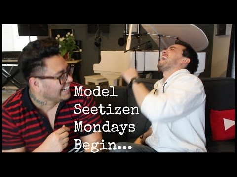 Model Seetizen Mondays Begin... with Andrew Garcia