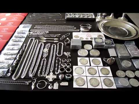 Silver Collection 2011 - Bullion Bars Coins Jewelry - Stacking For The Future