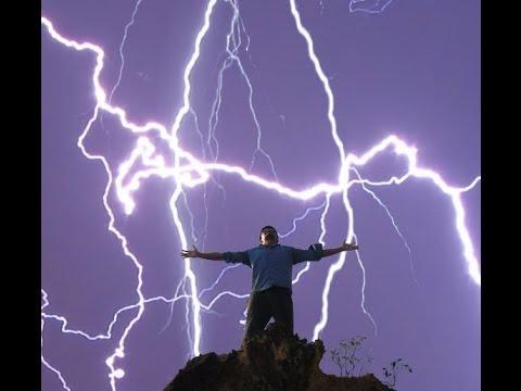 Lightning Strikes Man Twice At Rednecks With Paychecks MUST WATCH