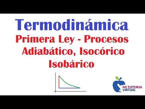 Video 008 - Problema Aplicacion Primera Ley de la Termodinamica - Termodinamica