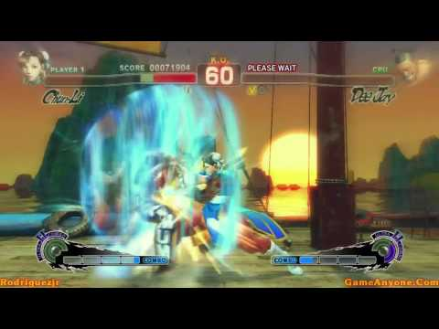 Super Street Fighter IV Arcade Mode (Chun-Li Pt. 2/3)