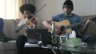 Bob Dylan/John Mayer/Kings of Leon Mashup- I Shall Be Slow Dancing in Arizona (acoustic cover)