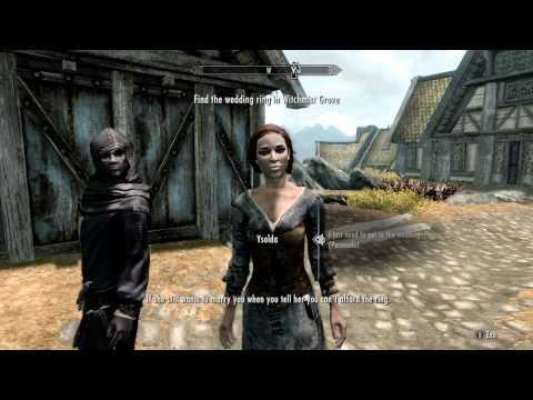 Elder Scrolls V: Skyrim: Rare Weapons - Sanguine-s Rose (Daedra Artifact) | Episode 10