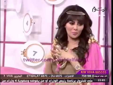 شاهد بالفيديو : متصل يحرج الفنانة مريم حسين ويطلب الزواج منها على الهواء مباشرة