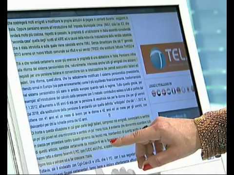 Mondo Italia (05/04/2012) - Youdem Tv
