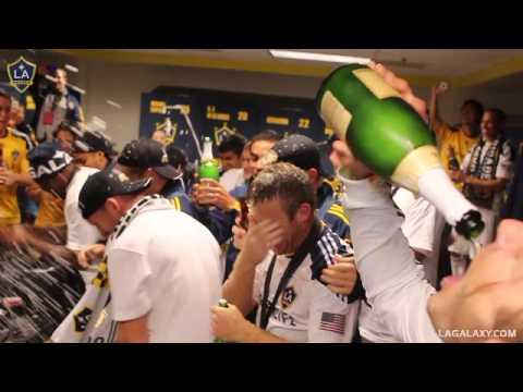 LA Galaxy MLS Cup Celebration