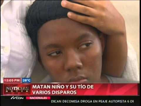Matan niño y su tío de varios disparos