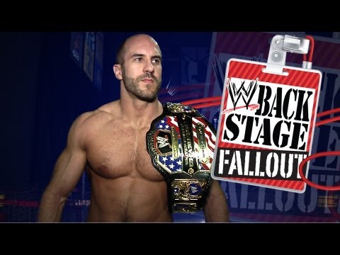 "Who is going out on the town after SmackDown? - ""Backstage Fallout"" SmackDown - October 19, 2012"