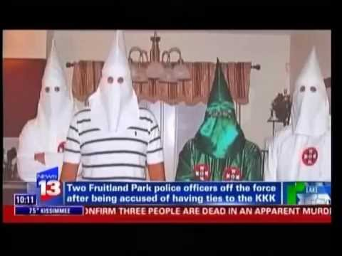 (KKK) Members Working on Florida Police Force (Undercover Agent Tells The World) 8/11/14