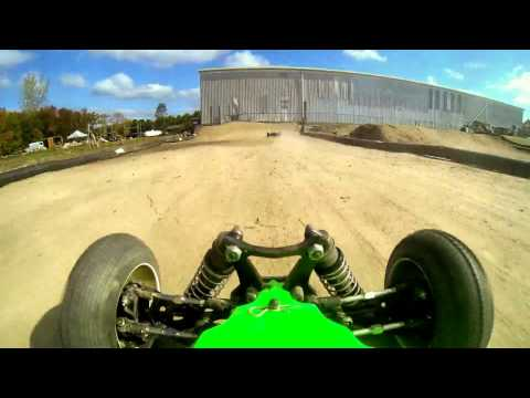 RC buggy in-car cam (GoPro) HD