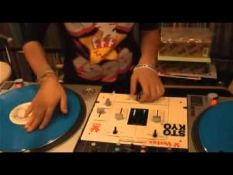 DJ Sara - Scratch Practice 【Rane Serato Scratch Live】2011.10.30