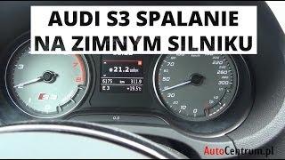 Audi S3 Limousine - spalanie na zimnym silniku