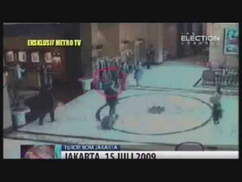 JW Marriott Jakarta Bombing July 2009 Captured by CCTV
