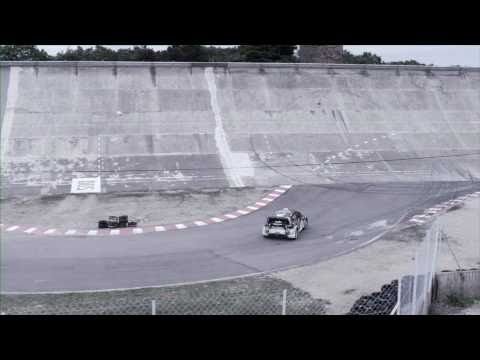 DC SHOES KEN BLOCK'S GYMKHANA THREE, PART 2 BONUS TRICK EDIT: WALL RIDE
